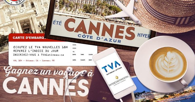 Concours Gagnez un voyage à Cannes!
