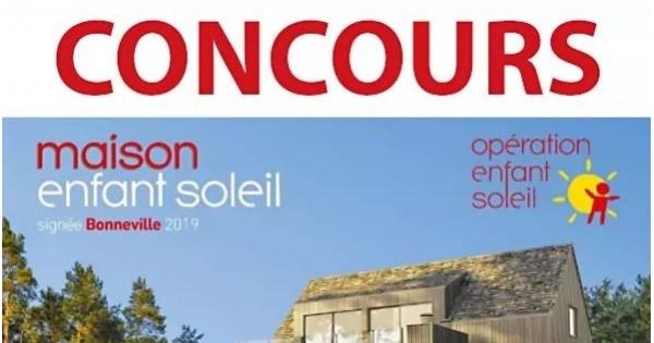 Concours Gagnez 10 Billets de la Maison Enfant Soleil signée Bonneville!