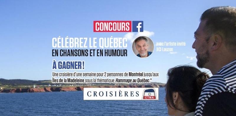 Concours Gagnez une croisière d'une semaine, de Montréal aux Îles de la Madeleine!