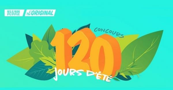 Concours 120 jours d'été de Slush Puppie!