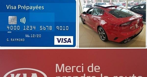 Concours Gagnez une Visa prépayée de 500$!