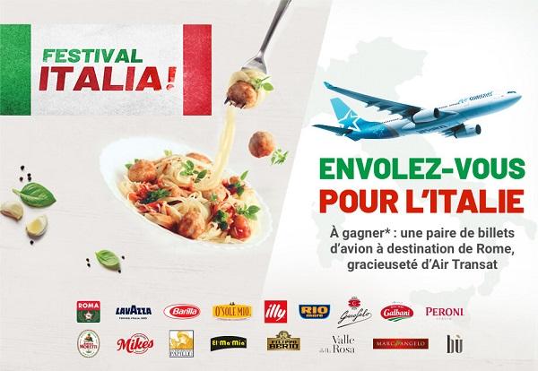 Concours Envolez-vous pour L'Italie!