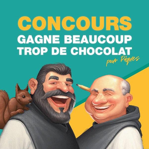 Concours GAGNE BEAUCOUP TROP DE CHOCOLAT POUR PÂQUES!