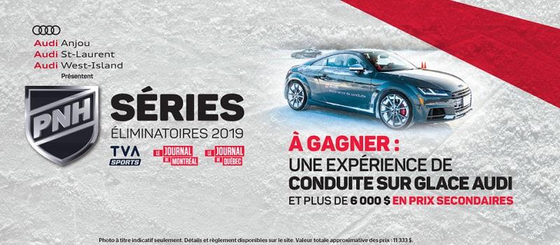 Concours Gagnez une expérience de conduite sur glace Audi et plus de 6 000 $ en prix secondaires!