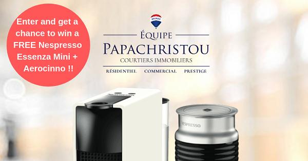 Concours Gagnez une machine Nespresso d'une valeur de 250$!