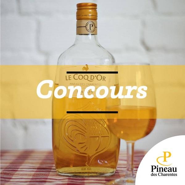 Concours Gagnez une bouteille de Pineau des Charentes Coq d'Or!