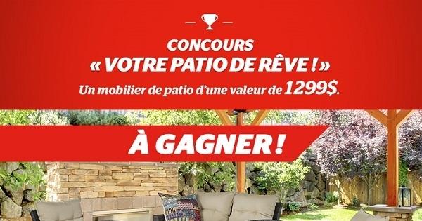 Concours Gagnez votre patio de rêve!