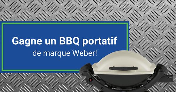 Concours Gagnez un BBQ portatif de marque WEBER!
