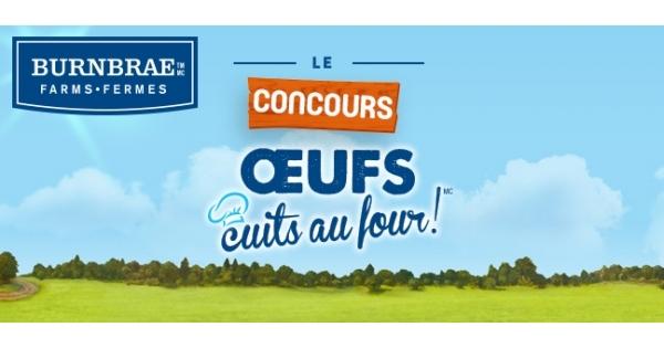 Concours Oeufs cuits au FOUR !!