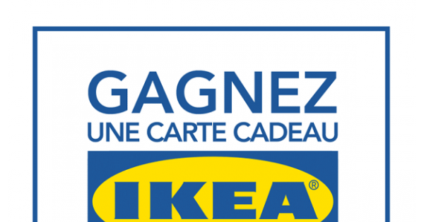 Concours Gagnez une carte cadeau de IKEA 250$!