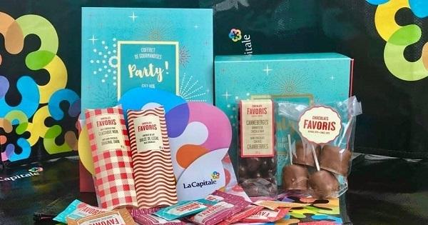 Concours Gagnez une des deux boîtes cadeaux de Chocolats Favoris!