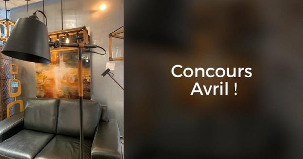Concours Gagnez une superbe lampe BELINI de la collection PIANA!