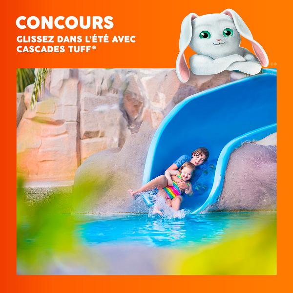 Concours Gagnez un chèque-cadeau d'une valeur de 1 000 $ dans le parc aquatique de votre choix et 1 000 $ en argent de poche!