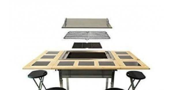 Concours Gagnez une magnifique table bbq d'une valeur de 1500$ offert par les Cheminées Gamelin!