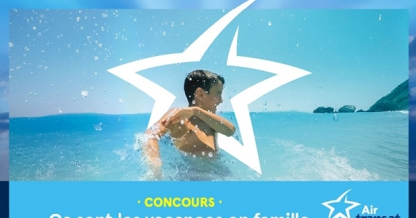 Concours Ça sent les vacances en famille avec Air Transat!