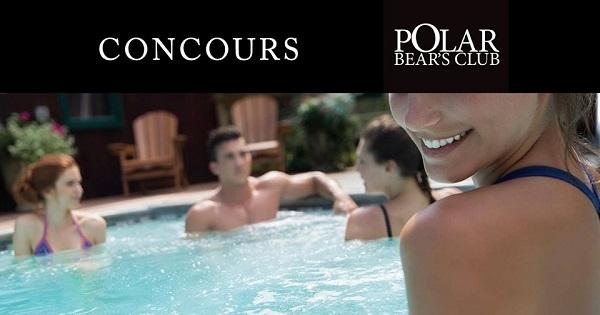 Concours Gagnez deux entrées au Spa Polar Bear!