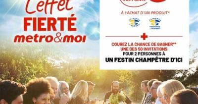 Concours Gagnez une des 50 invitations pour 2 personnes à un festin champêtre d'ici!