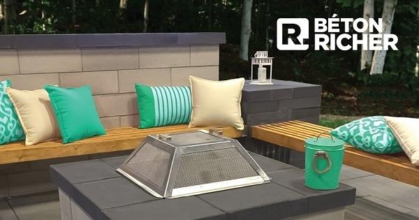 Concours Gagnez un foyer M-100 d'une valeur de 2000$ offert par le Groupe Richer!