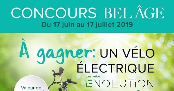 Concours Gagnez un vélo électrique d'une valeur de 2500$!