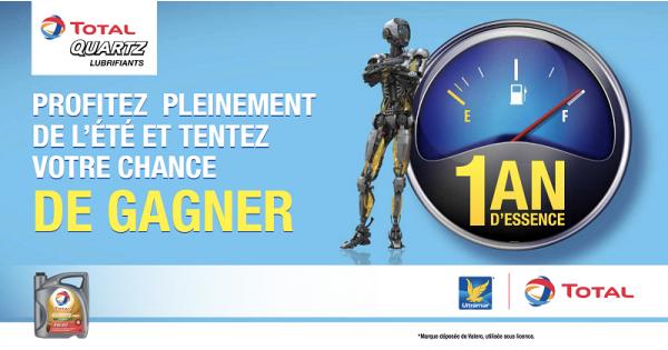 Concours Gagnez 1 année d'essence gratuite chez Ultramar!