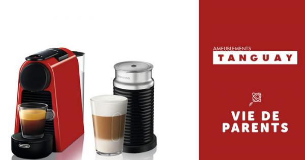Concours Gagnez une machine à café Nespresso + mousseur à lait d'une valeur de 250$!