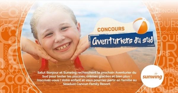 Concours Gagnez un voyage familial au au Seadust Cancun Family Resort!