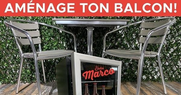Concours AMÉNAGE TON BALCON!