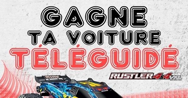 Concours GAGNE TA VOITURE TÉLÉGUIDÉ!