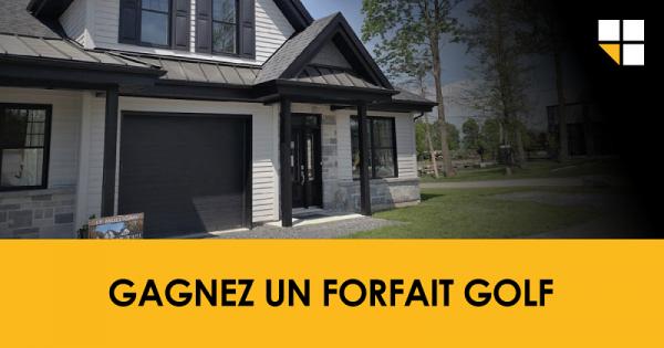 Concours Gagnez un forfait golf!