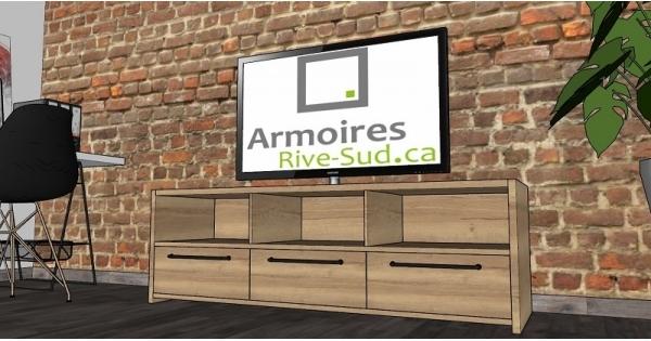 Concours Gagnez un meuble télé fait sur mesure!
