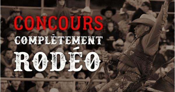 Concours Gagnez un forfait au Rodéo Mont-Sainte-Anne!
