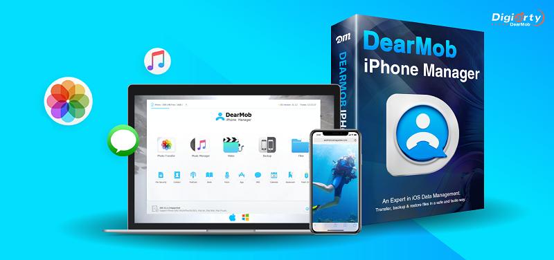 Concours Gagnez une licence du logiciel de sauvegarde DearMob iPhone Manager!