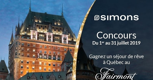 Concours Gagnez un séjour de rêve à Québec!