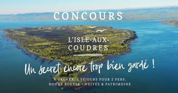 Concours Gagnez un séjour pour 2 à L'Isle-aux-Coudres!