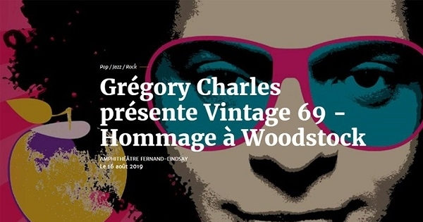 Concours Gagnez une paire de billets pour le spectacle de Gregory Charles à l'amphithéâtre de Joliette!