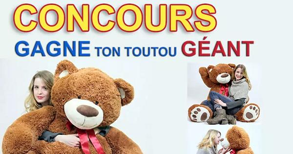 Concours Gagnez un Toutou Géant!