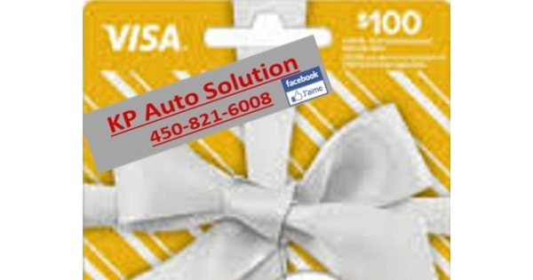 Concours Gagnez une carte Visa prépayé de 100$!