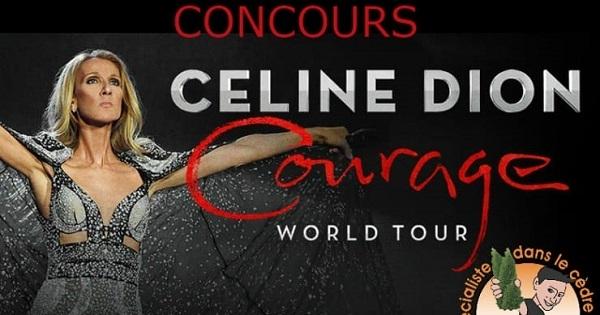 Concours Gagnez 2 billets pour le spectacle de Celine Dion au Centre Bell le 30 septembre 2019!