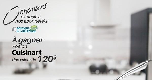 Concours Gagnez un poêlon Cuisinart Canada d'une valeur de 120$!