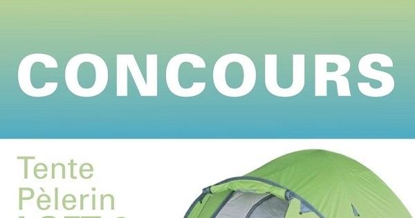 Concours Gagnez une tente de marque Pèlerin d'une valeur de 300$!