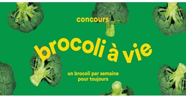Concours Brocoli à vie!