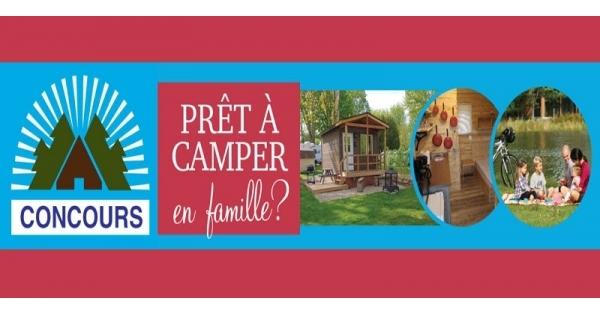 Concours Gagnez une semaine de vacances en famille dans un prêt à camper!