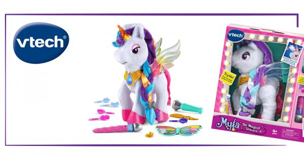 Concours Gagnez une licorne magique Mila de VTech pour la maquiller et chanter avec elle!