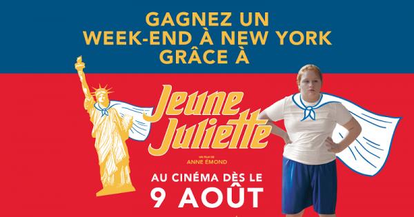 Concours GAGNEZ UN WEEK-END À NEW-YORK GRÂCE À JEUNE JULIETTE!