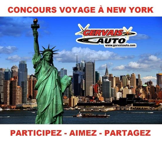 Concours Gagnez un voyage à New York pour 4 personnes