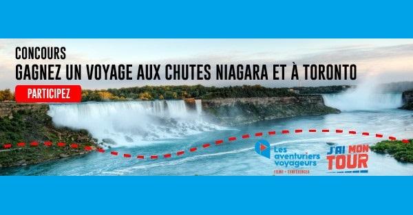 Concours Gagnez un voyage aux chutes du Niagara et à Toronto!