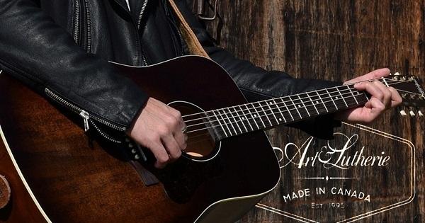 Concours Gagnez une magnifique guitare Art & Lutherie fabriquée au Québec par Godin!
