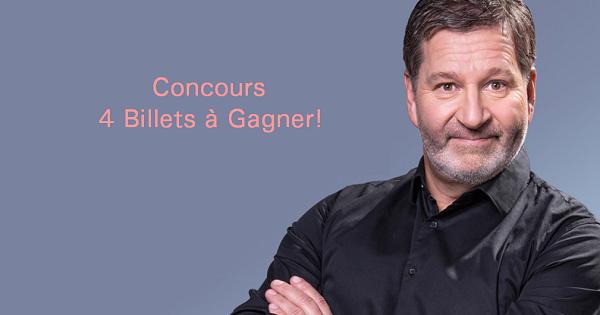 Concours Gagnez 4 billets au Zénith de Saint-Eustache pour assister au spectacle de Mario Jean le samedi 7 septembre 2019!