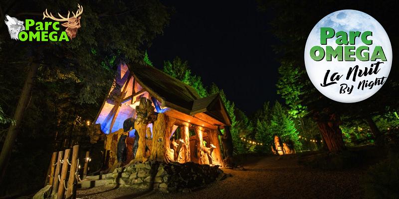 Concours Gagnez un laissez-passer familial pour le Parc Omega et leur nouvelle attraction de nuit!