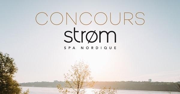Concours Gagnez un Passeport Strøm Spa Nordique pour 2 personnes, d'une valeur de 432$!